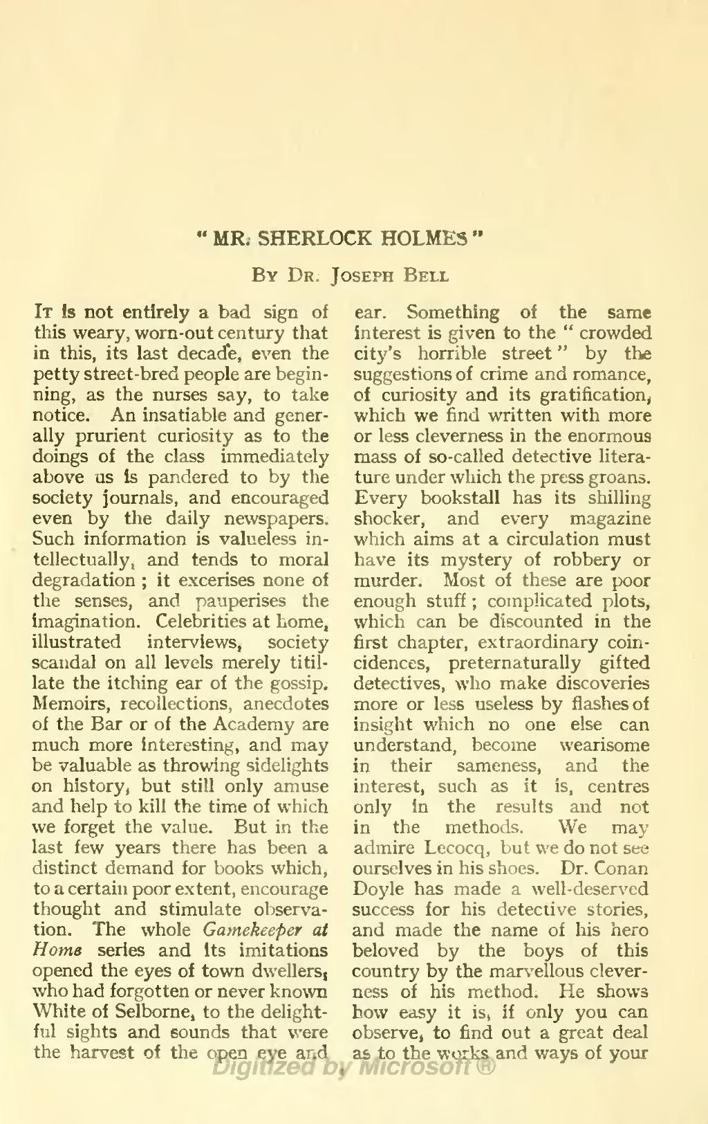 #43 SherlockSunday