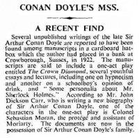 Auszug aus The Times 1947
